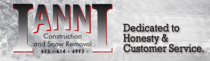 Ianni Construction and Snow Removal - Construction Ottawa